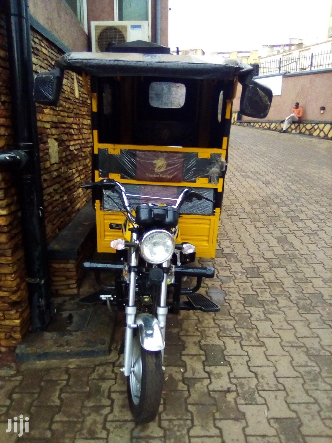 New Tricycle 2019 Yellow | Motorcycles & Scooters for sale in Kampala, Central Region, Uganda