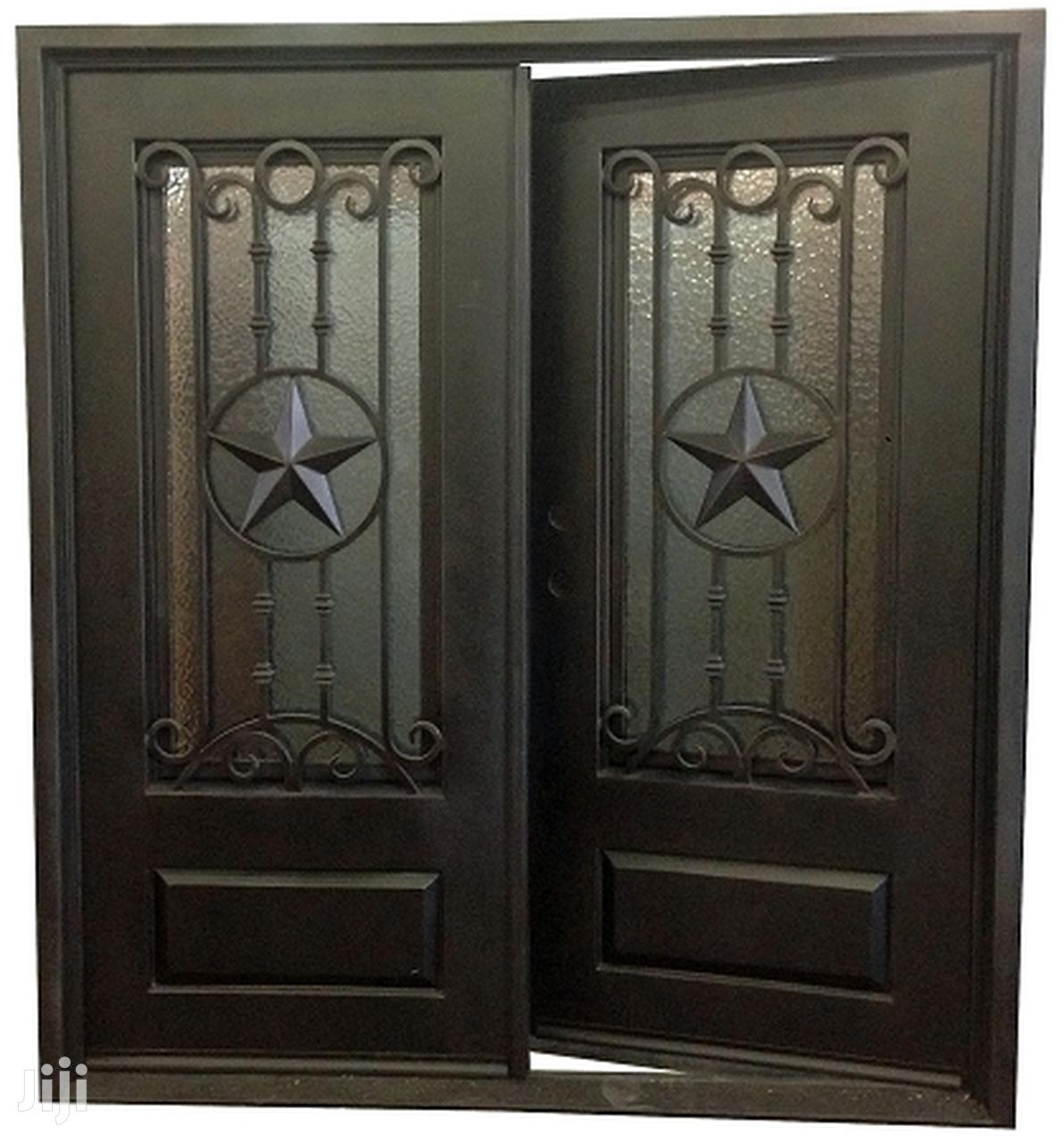 S090919 Wrought Iron Doors B