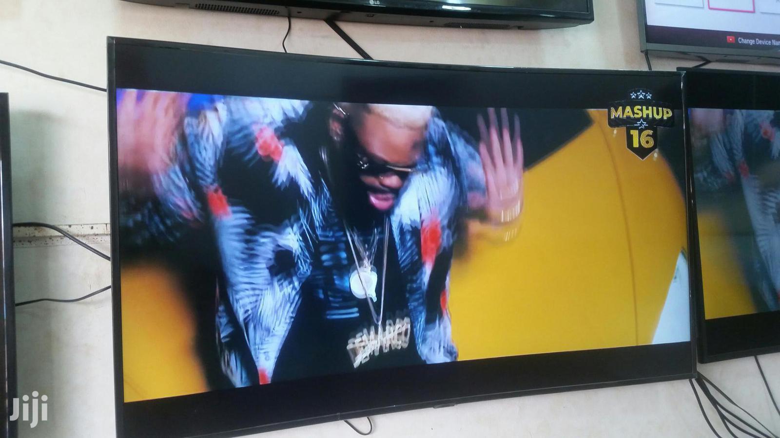 Samsung TV Curve 4k Ultra Hd 55 Inches | TV & DVD Equipment for sale in Kampala, Central Region, Uganda