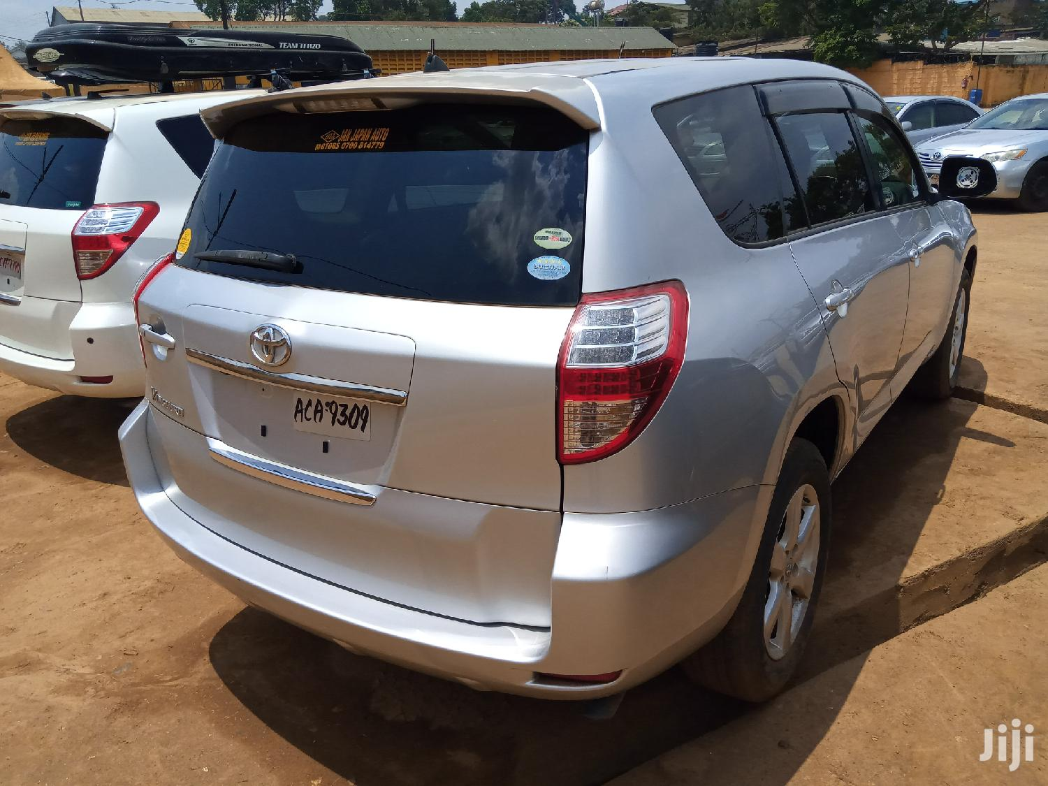 Archive: New Toyota Vanguard 2008 Silver