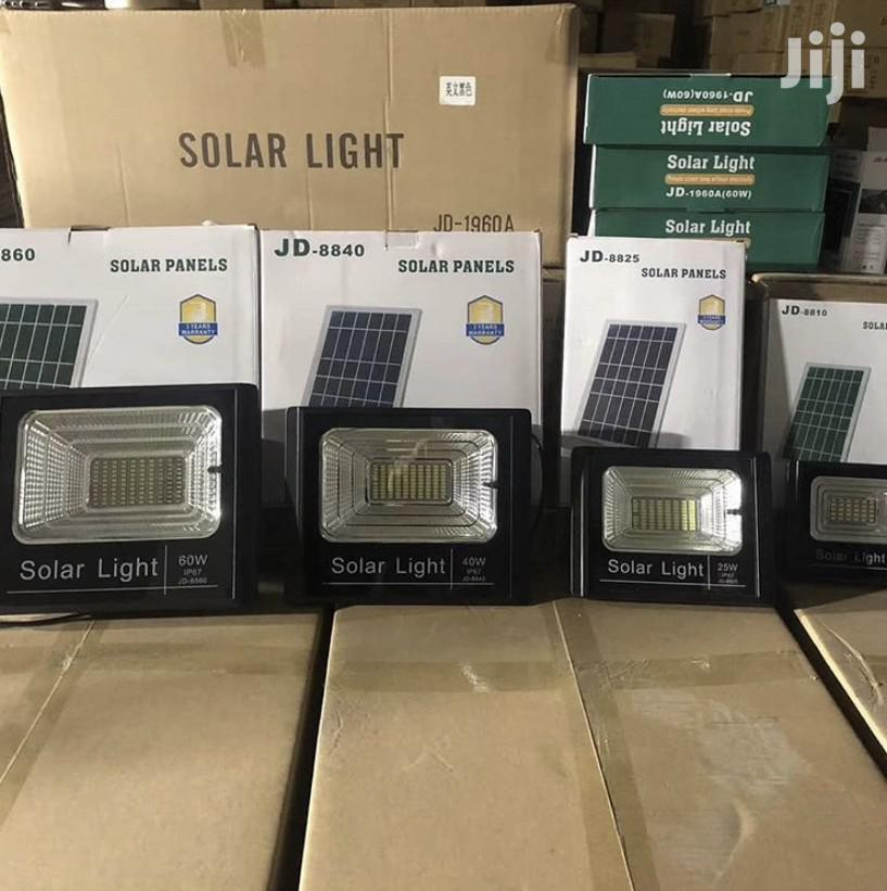 Solar Floodlight Integrated In One