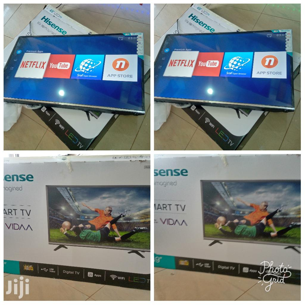 49 Inches Led Hisense Smart Flat Screen