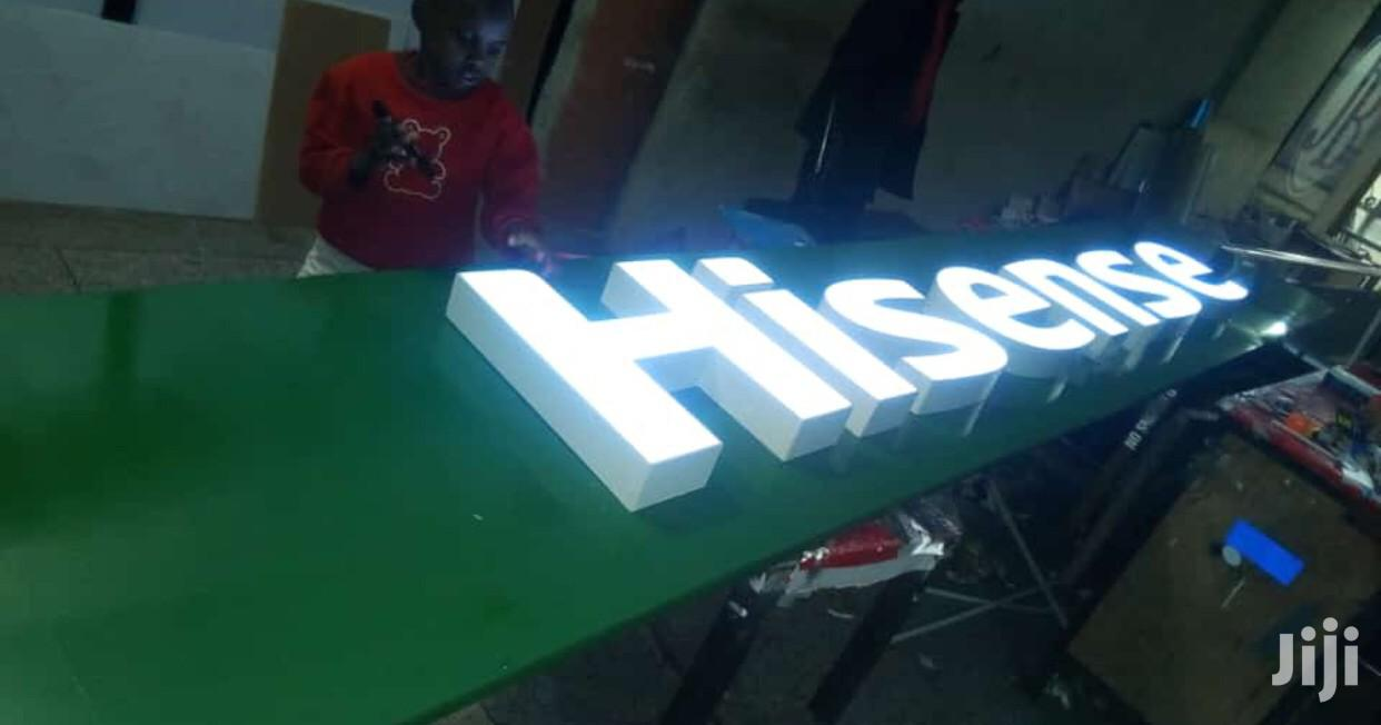 We Make 3D Light Box Signposts | Computer & IT Services for sale in Kampala, Central Region, Uganda