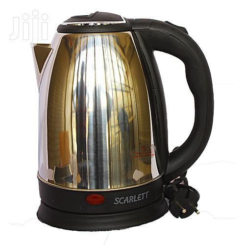 Scarlett SC-20A Electric Kettle Silver 2L