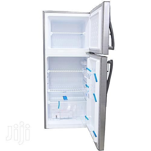 Changhong CD-155 - Silver Double Door Refrigerator - 155L Fridge