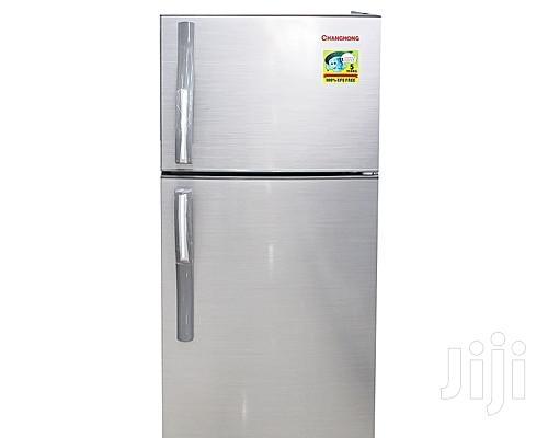 Changhong CD-155 - Silver Double Door Refrigerator - 155L Fridge   Kitchen Appliances for sale in Kampala, Central Region, Uganda