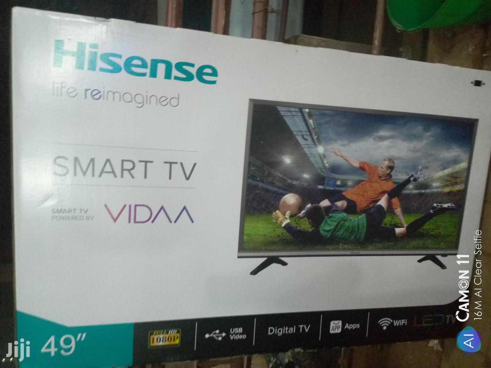 Hisense Smart Flat Screen Tv 49 Inches