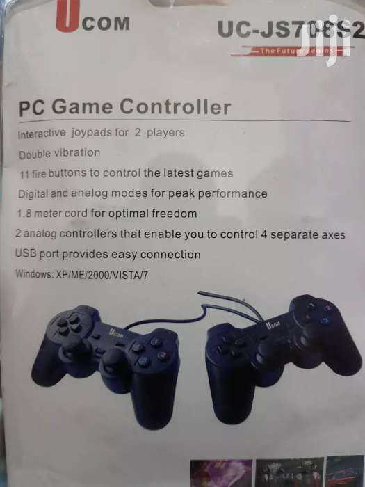PC TWIN SHOCK VIBRATION JOYPAD GAME PADS