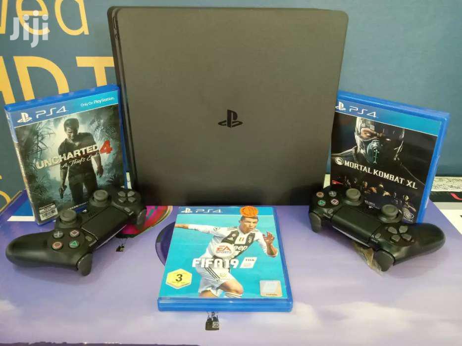 New Genuine Sony Playstation 4 Slim Fullest | Video Game Consoles for sale in Kampala, Central Region, Uganda