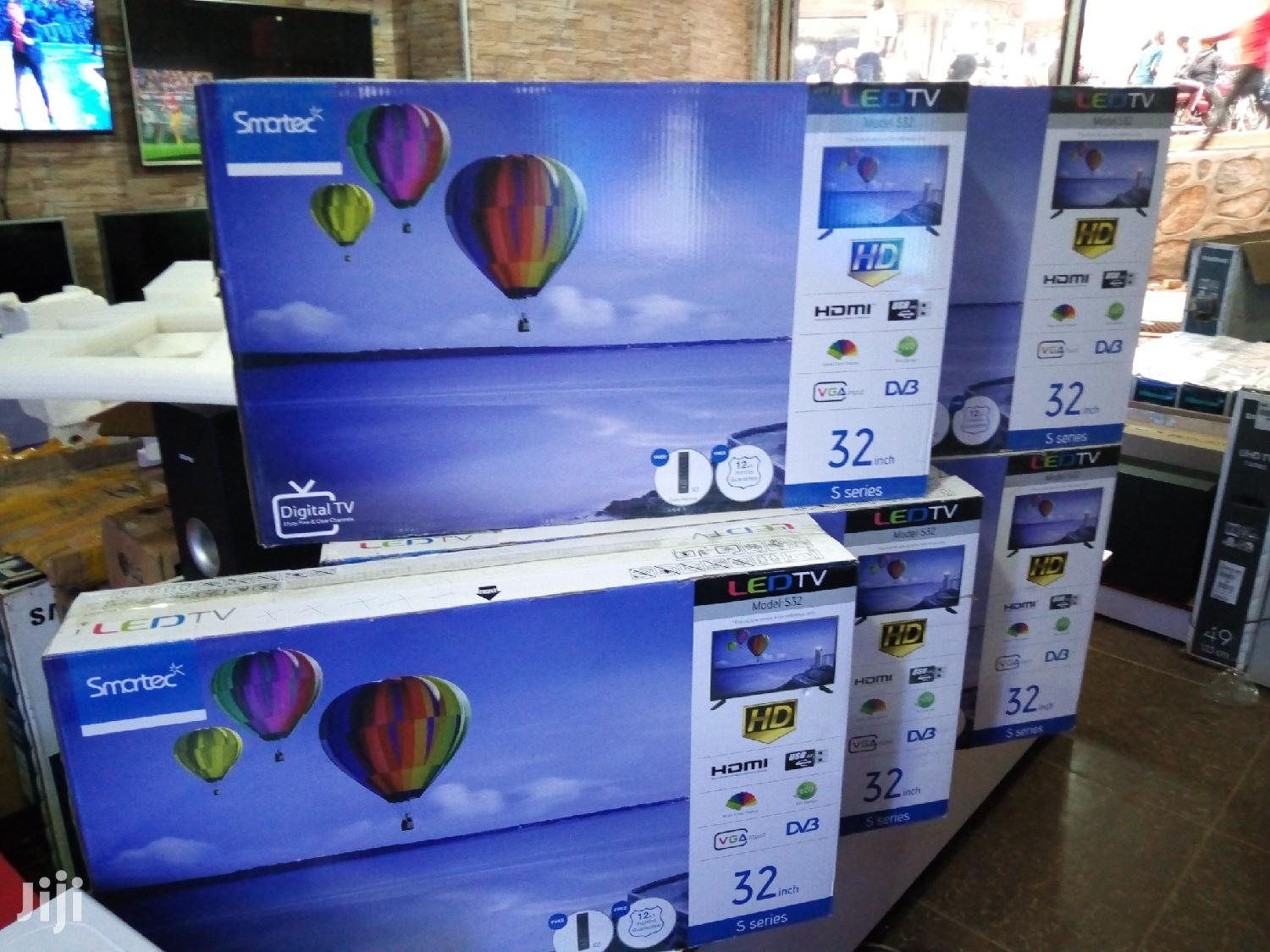 Smartec LED Digital Flat Screen Tv 32 Inches | TV & DVD Equipment for sale in Kampala, Central Region, Uganda
