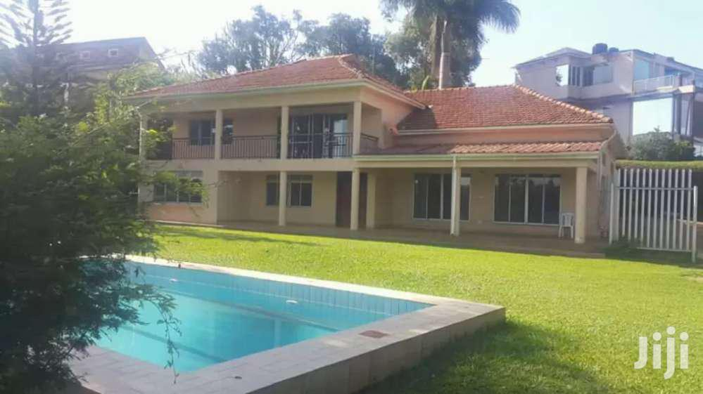 A Newly Built House With A Swimming Pool In Naguru