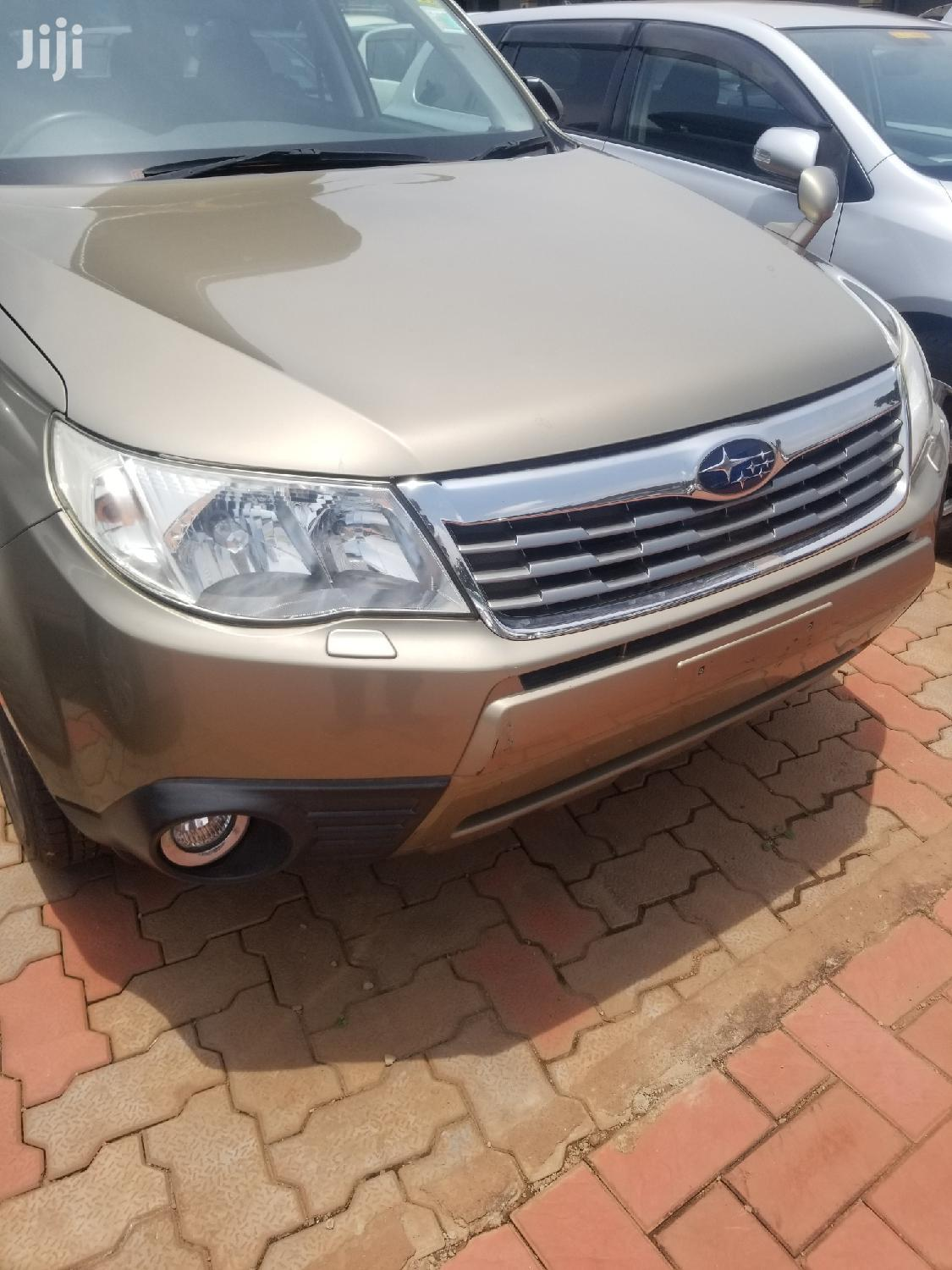 Archive: New Subaru Forester 2008 Gold