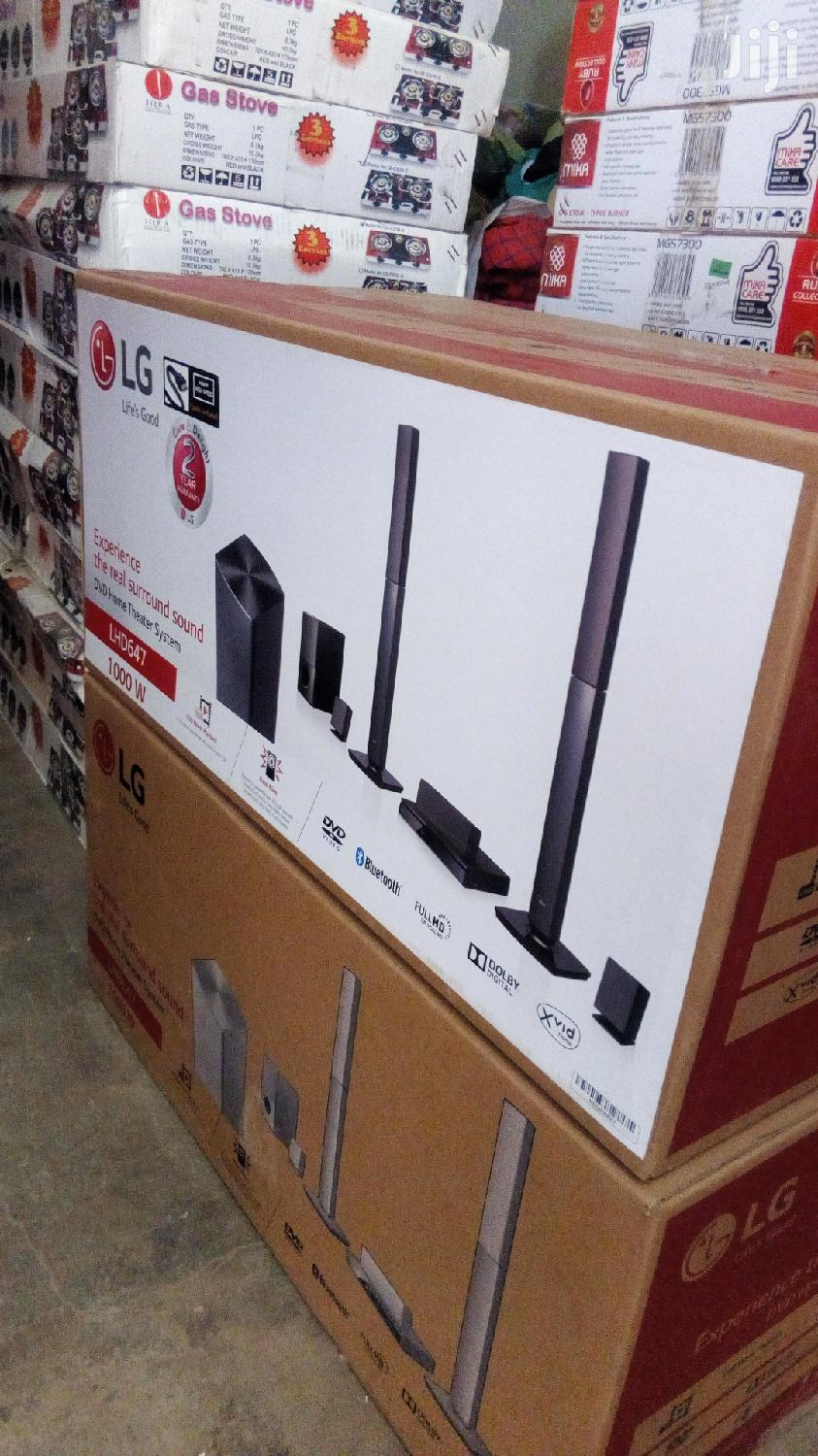 LHD 647 Lg Home Theatre 1000 Watts Bluetooth Music System | Audio & Music Equipment for sale in Kampala, Central Region, Uganda