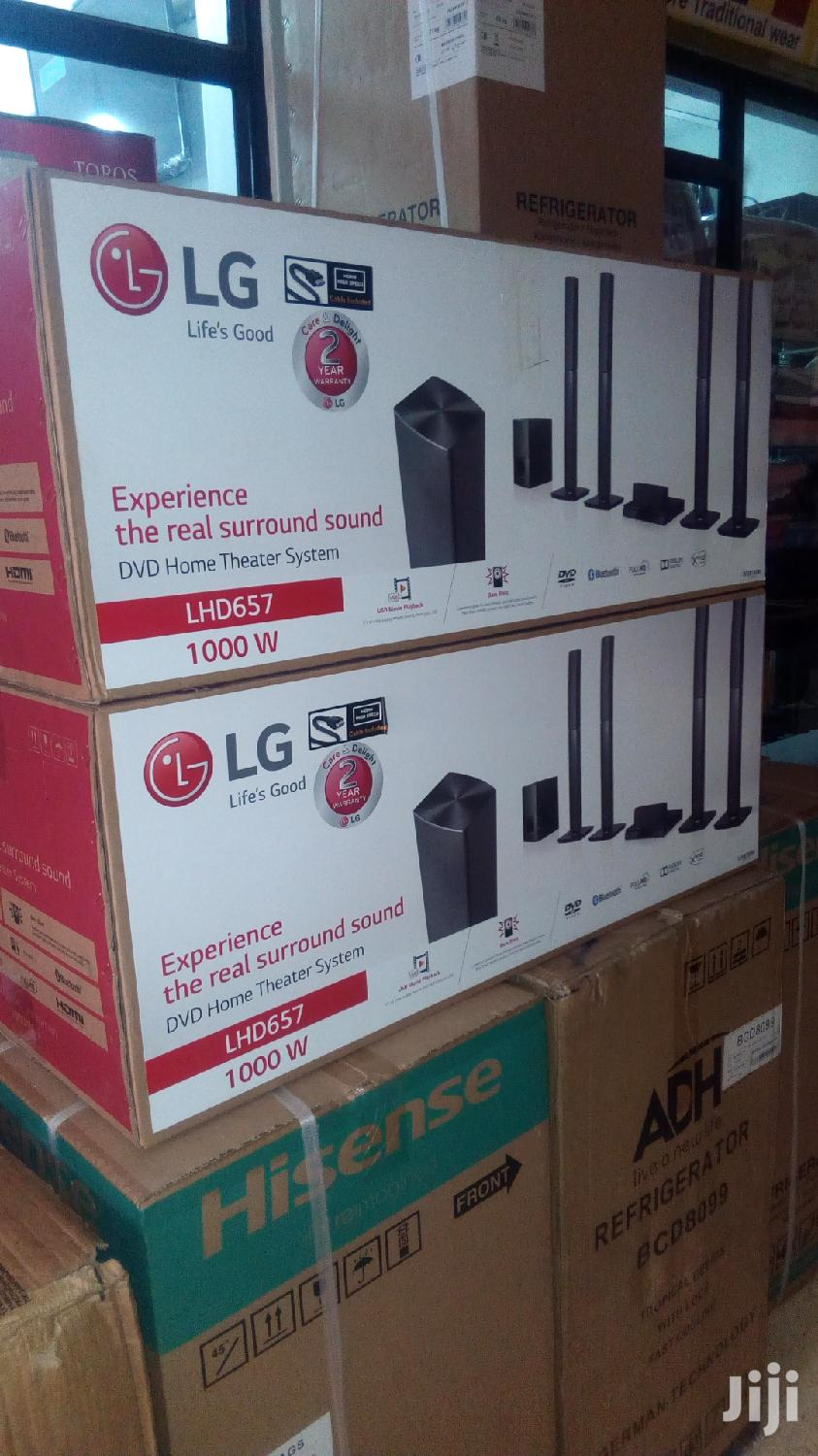LHD 657 LG Home Theatre 1000 Watts Music System