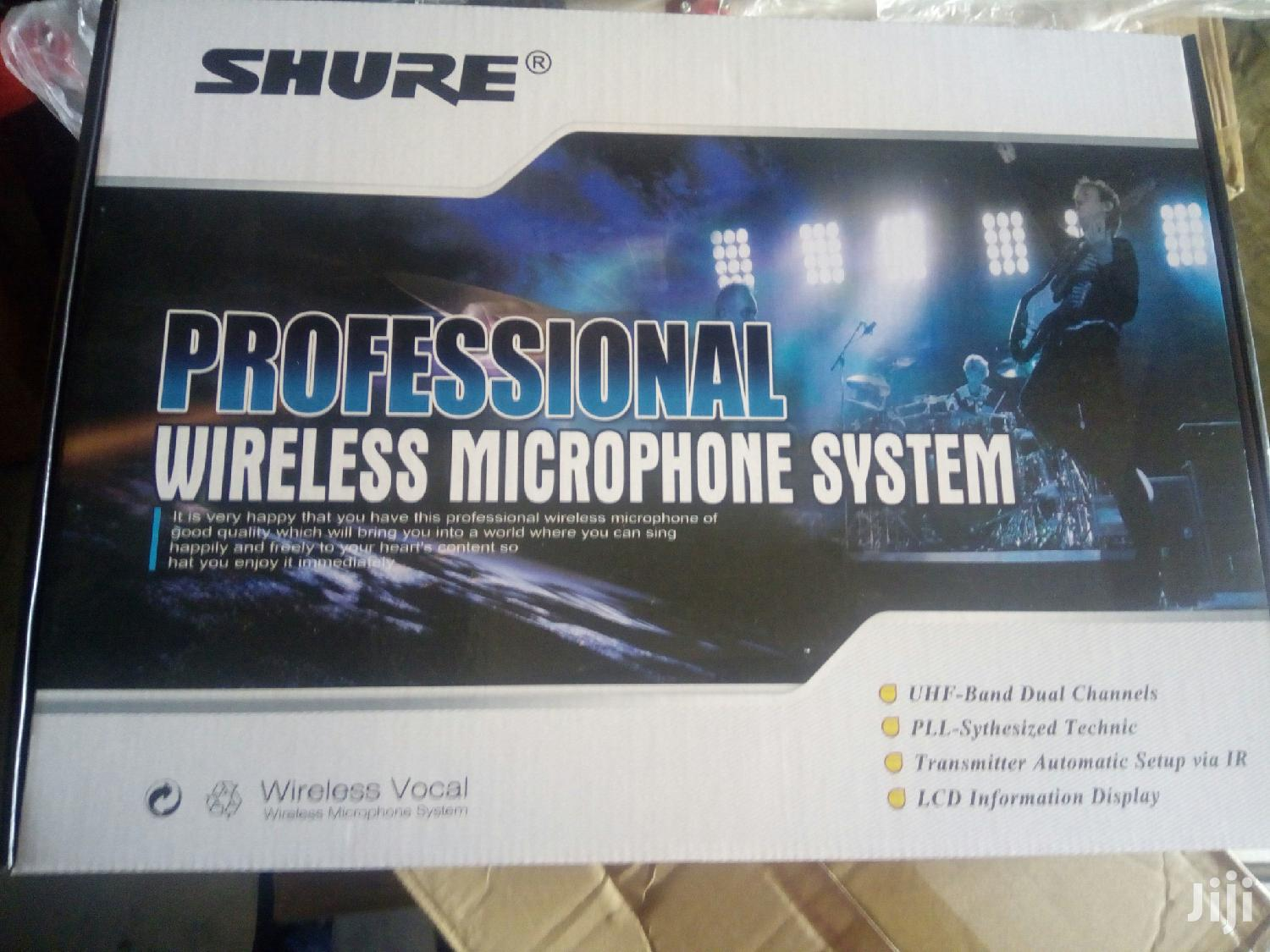 Shure Wireless Microphone | Audio & Music Equipment for sale in Kampala, Central Region, Uganda