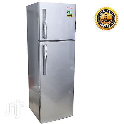 Changhong Double Door Refrigerator - 220L Fridge - Silver