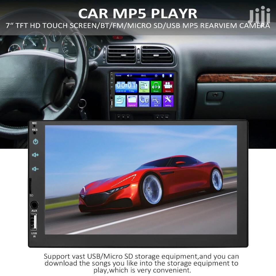 New Mp5 Flat Car Radio Stereo Player