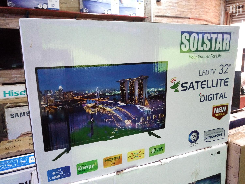 Solstar Digital Satellite LED TV 32 Inches