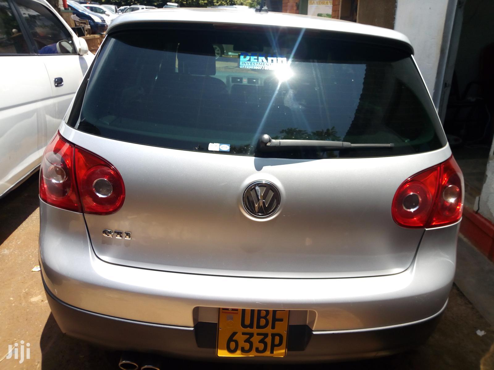 Volkswagen Golf 2007 Silver   Cars for sale in Kampala, Central Region, Uganda