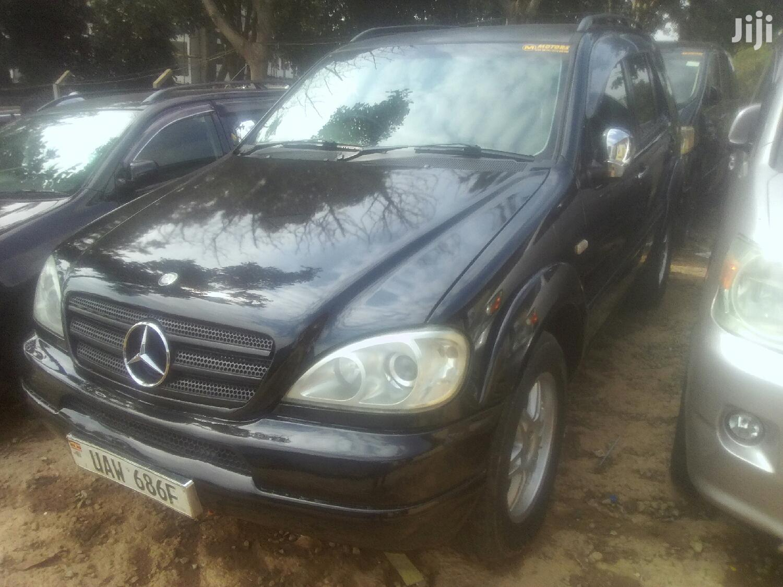 Mercedes-Benz M Class 2004 Black   Cars for sale in Kampala, Central Region, Uganda