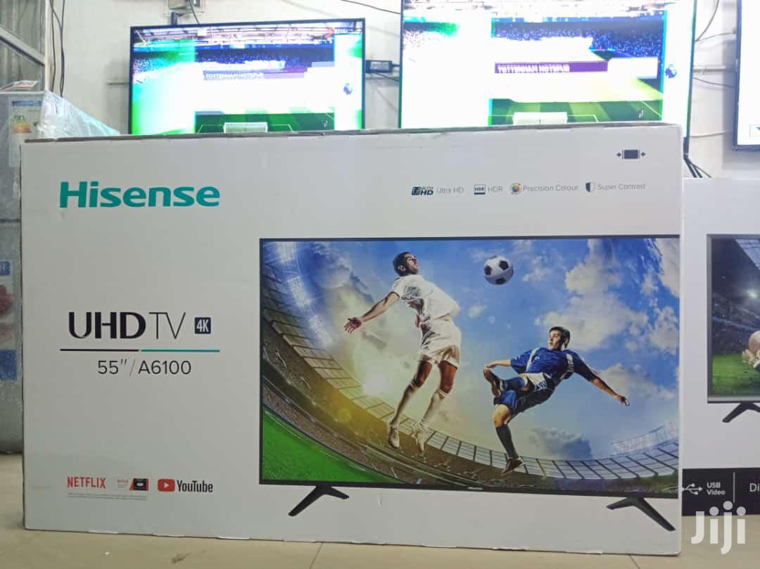 Hisense Smart UHD 4k TV 55 Inches