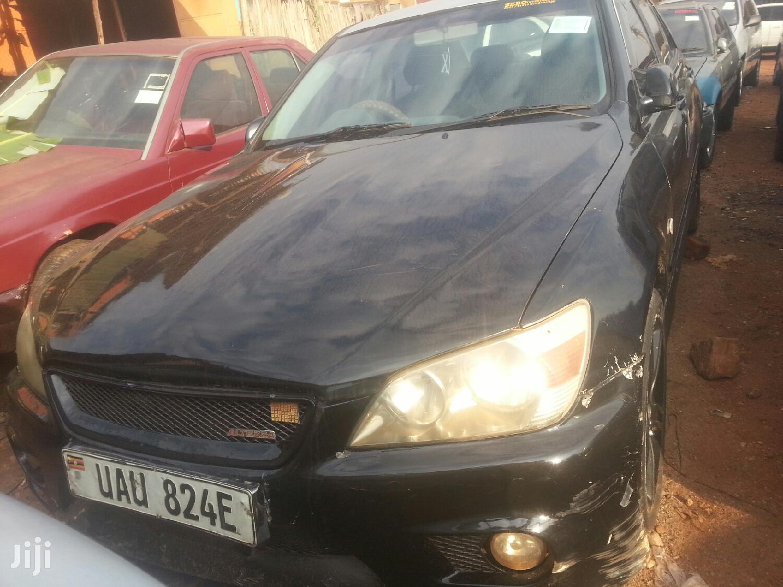Toyota Altezza 2002 Black