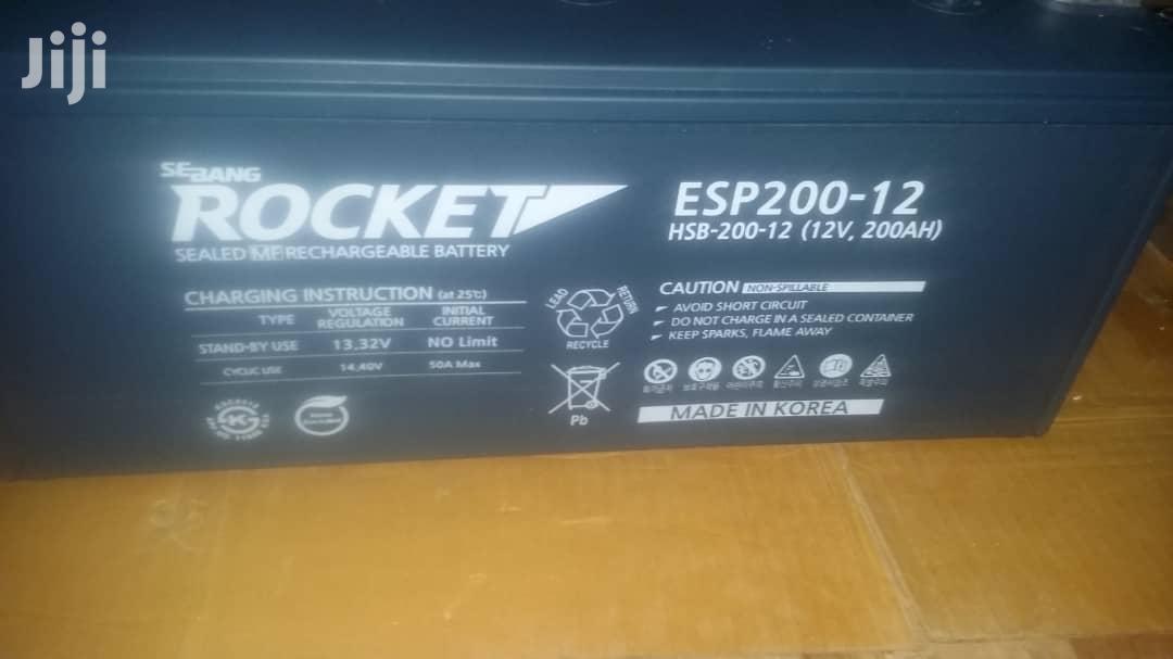 Rocket Korea Batteries
