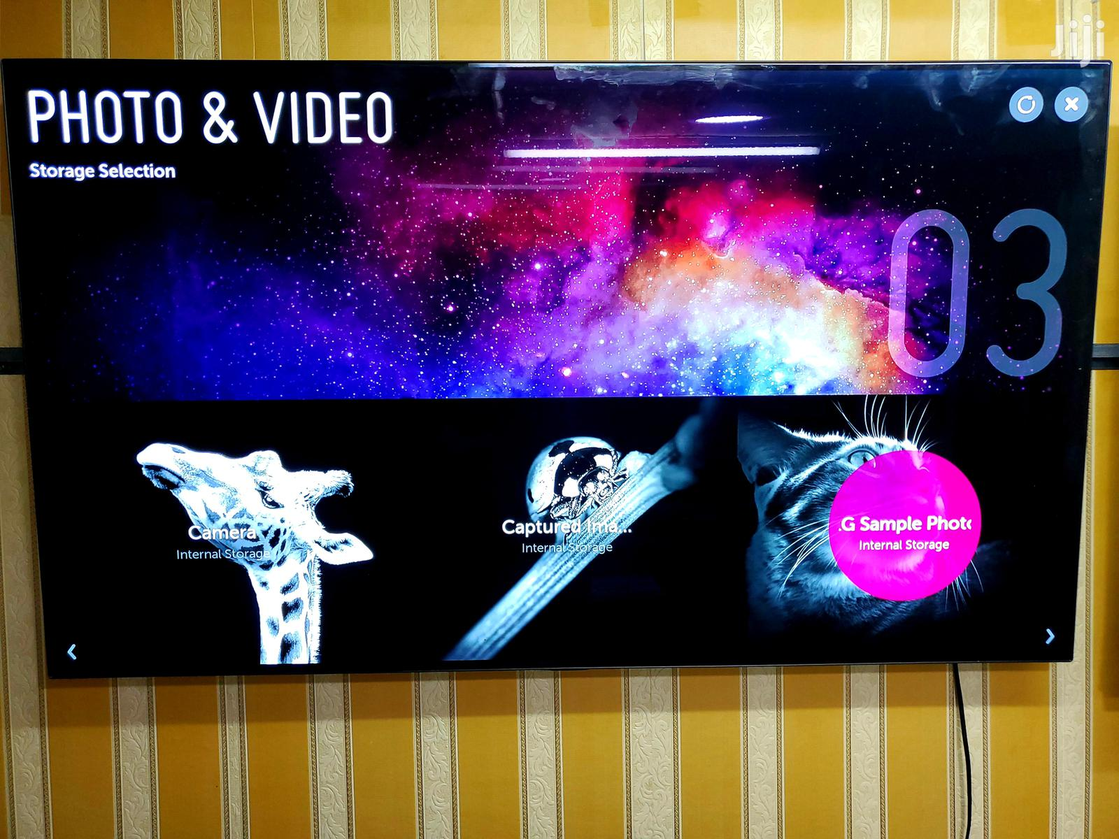Lg Oled Smart Uhd 4k Webos Tv 55 Inches | TV & DVD Equipment for sale in Kampala, Central Region, Uganda