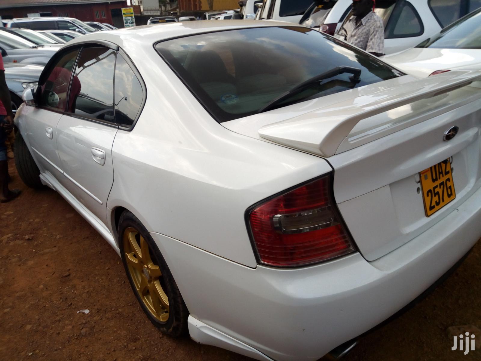 Subaru Legacy 2003 White | Cars for sale in Kampala, Central Region, Uganda