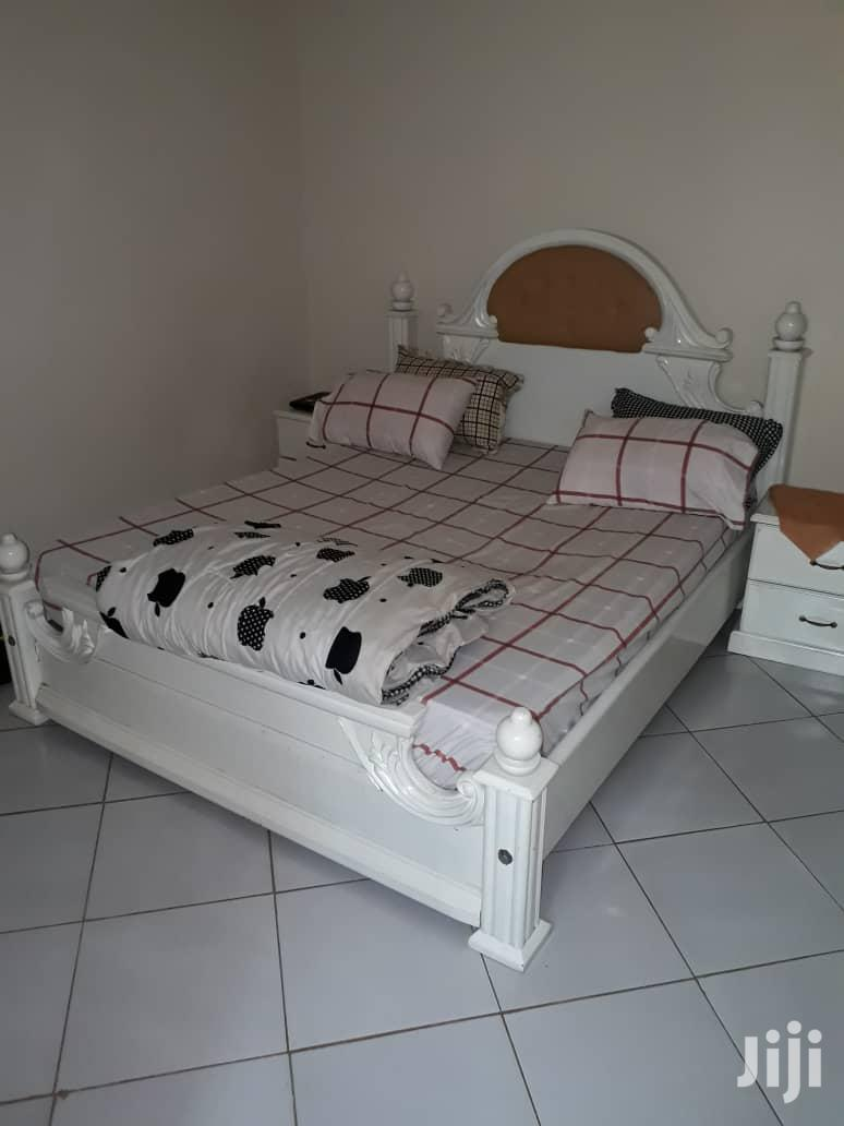 6x6 Bed With Quality Mattress | Furniture for sale in Kampala, Central Region, Uganda