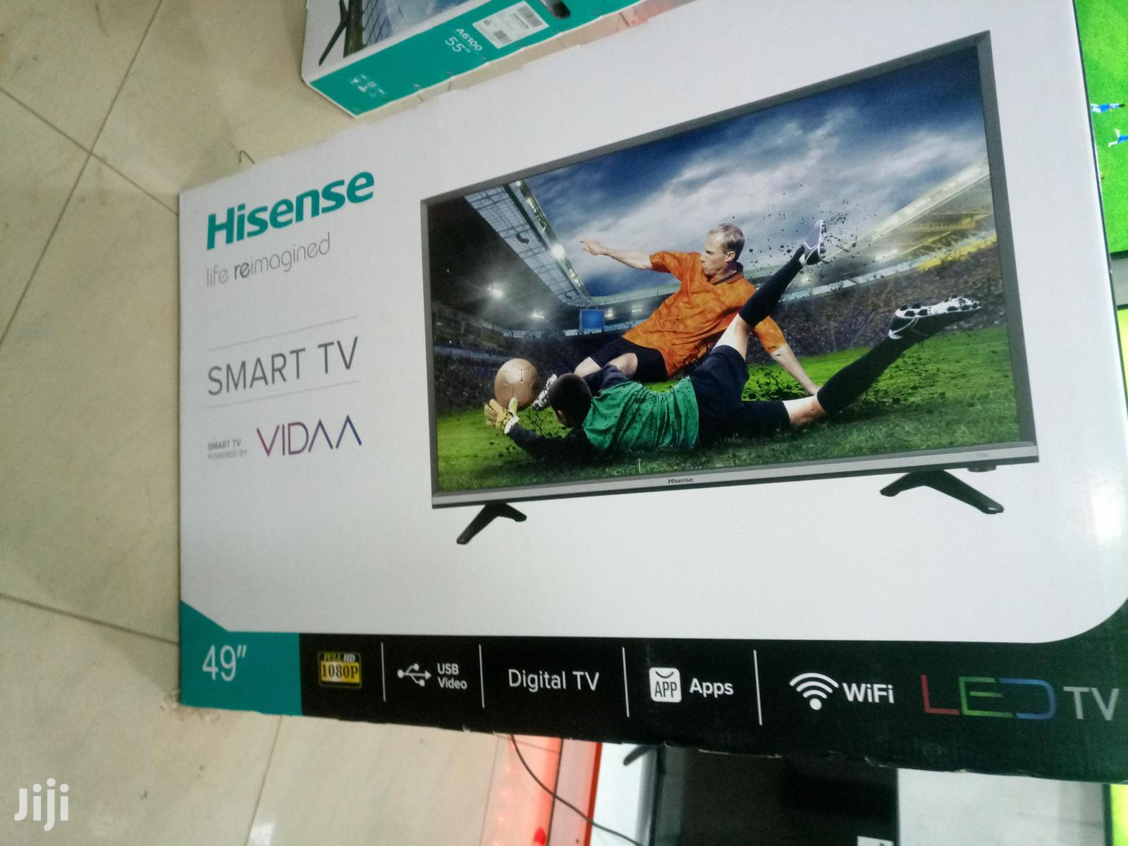 "HISENSE Smart 49"" Flat Screen Digital TV"