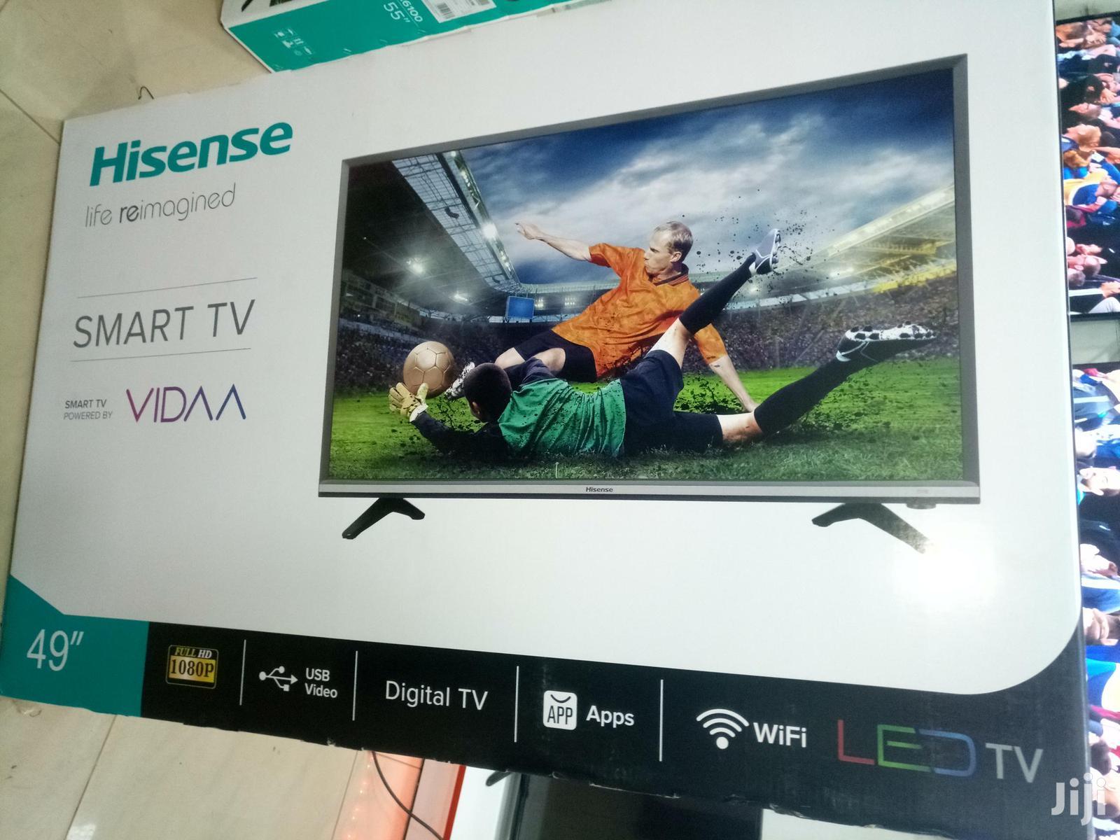 "HISENSE Smart 49"" Flat Screen Digital TV | TV & DVD Equipment for sale in Kampala, Central Region, Uganda"