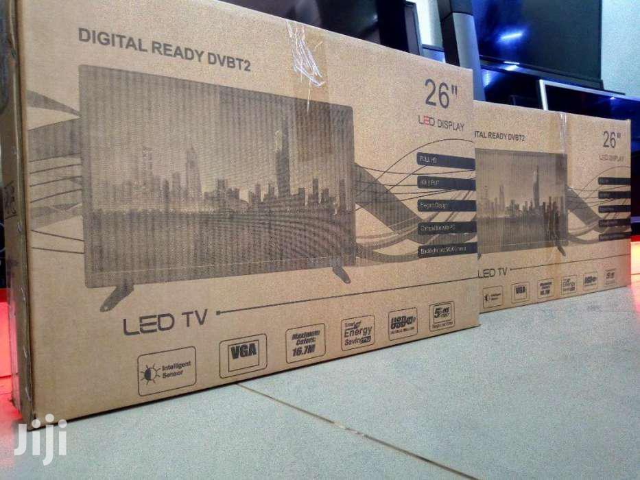 Brand New LG Digital Flat Screen TV 26 Inches   TV & DVD Equipment for sale in Kampala, Central Region, Uganda