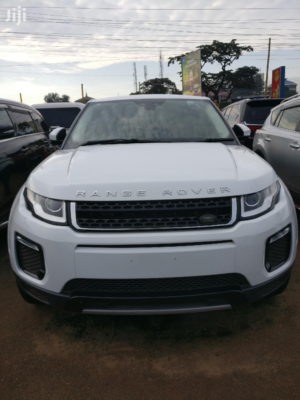Land Rover Range Rover Evoque 2016 White