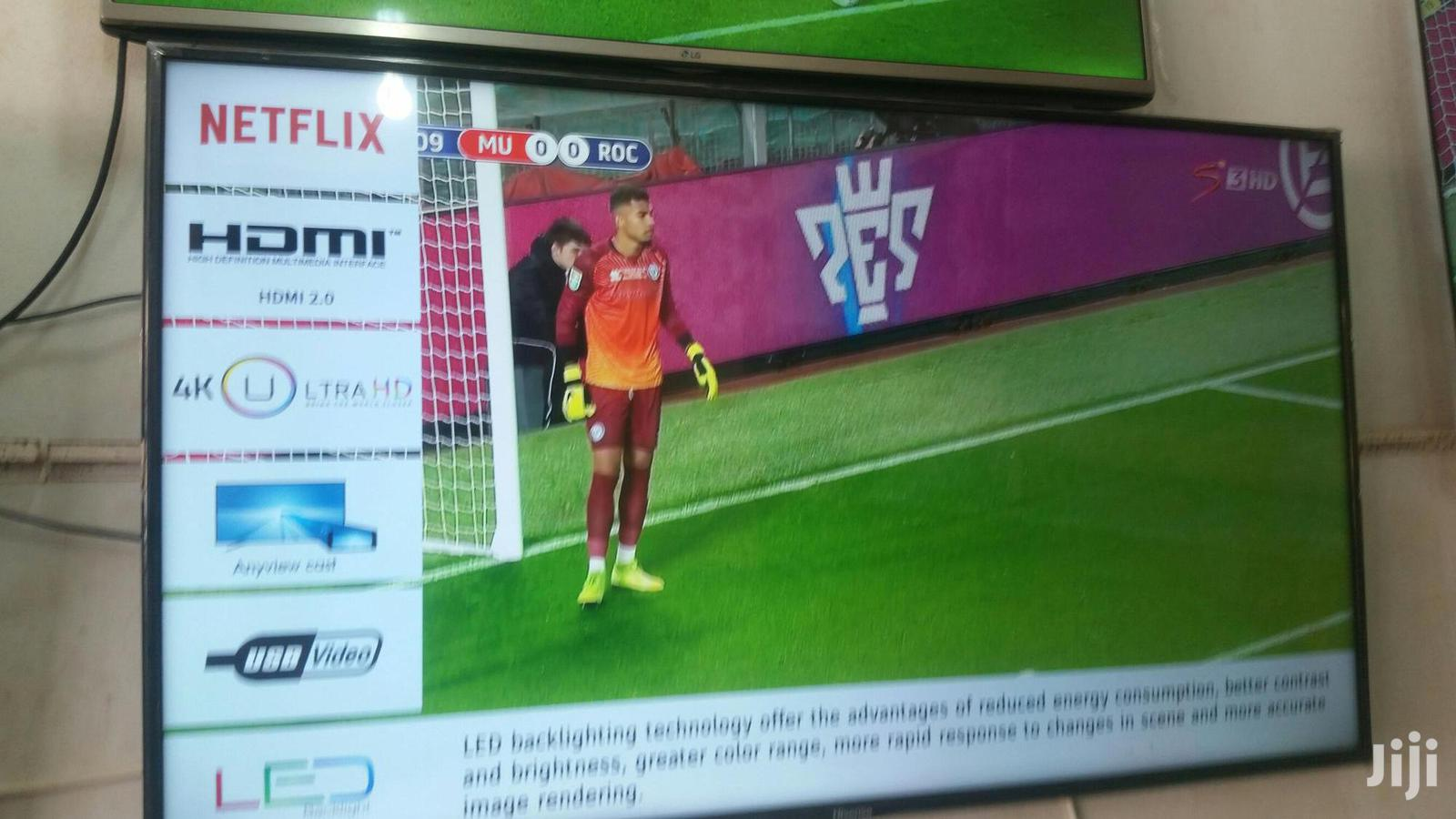 55 Inches Led Hisense TV Smart 4k Uhd